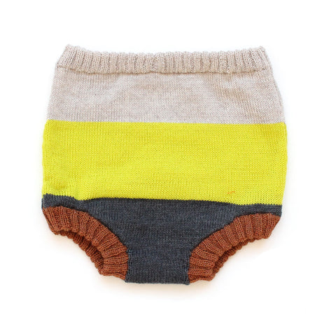 Yellow Gradient Diaper Cover