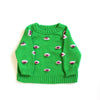 Green Eyez Raglan Sweater