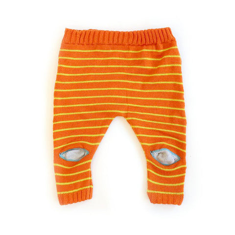 Orange Knee Pants