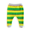 Green & Yellow Stripe Pant