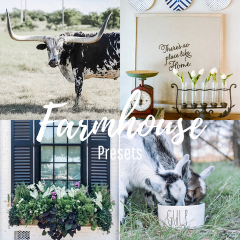 Farmhouse Mobile Presets