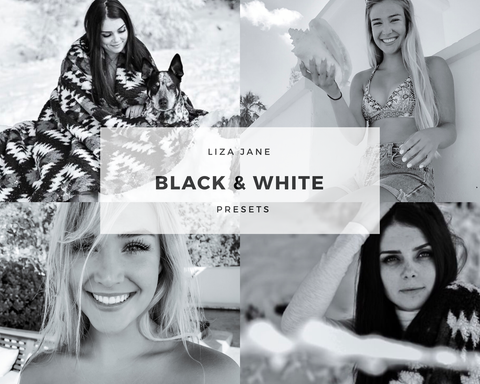 Black & White Mobile Presets