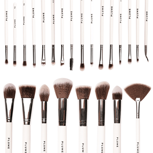 23 Pcs Professional Makeup Brush Set with Roll on Bag