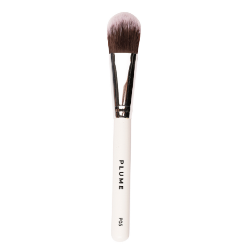 P05 - Professional Flat Foundation Application Brush - Plume Beauty