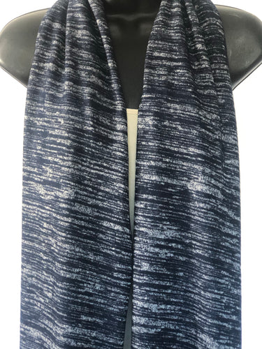 Painted Canvas Scarffie w/ Pocket Sleeves