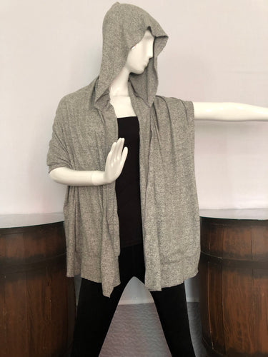 Morning Fog Scarffie Hoodie w/ Pocket Sleeves