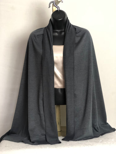 Slate Gray Scarffie with Pocket Sleeves