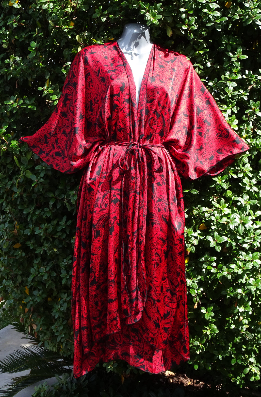NEW! The Kimono by Scarffie in Daring Red
