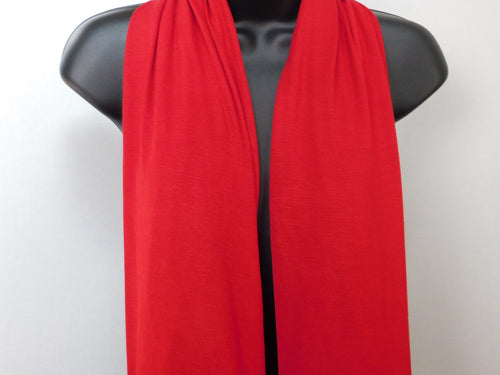 Rose Red Scarffie with PocketSleeves