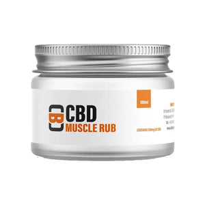 CBD Asylum 200mg CBD 100ml Muscle Rub Balm