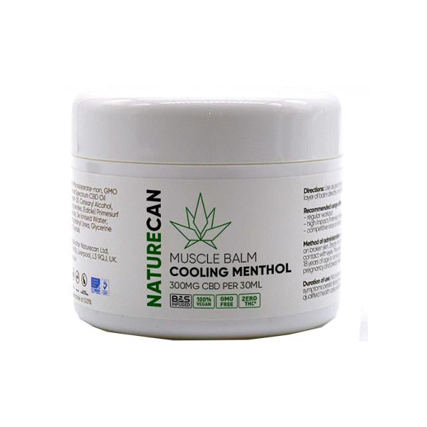 Naturecan 300mg CBD Cooling Menthol Muscle Balm