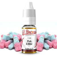 UK Flavour Sweets Range Concentrate 0mg 10 x  10ml (Mix Ratio 15-20%)