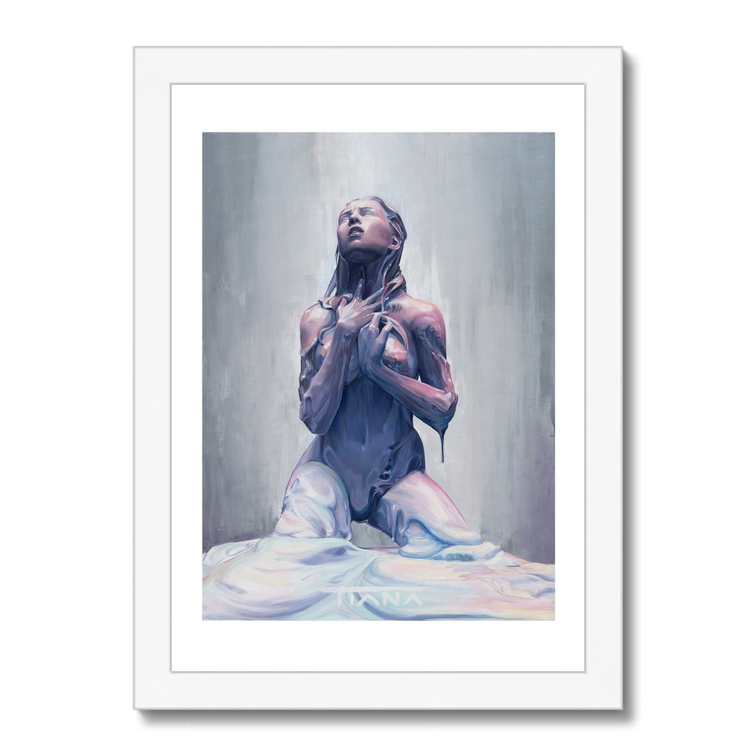 DESPERATE DESIRE Framed Print