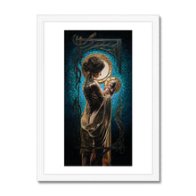 Load image into Gallery viewer, THE AWE OF MOTHERHOOD Framed Print