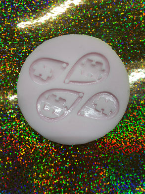 Autism Earrings Silicone Mold Set