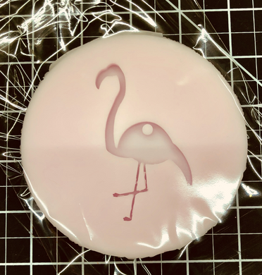 Flamingo Key Chain Silicone Mold