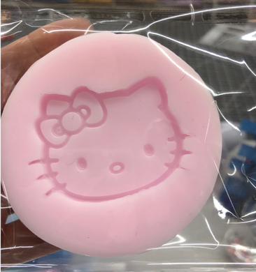 Hello Kitty Badge Reel Silicone Mold