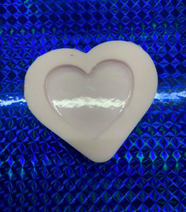 Heart Badge Reel Silicone Mold