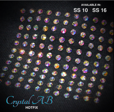 Crystal AB Hot Fix Rhinestone