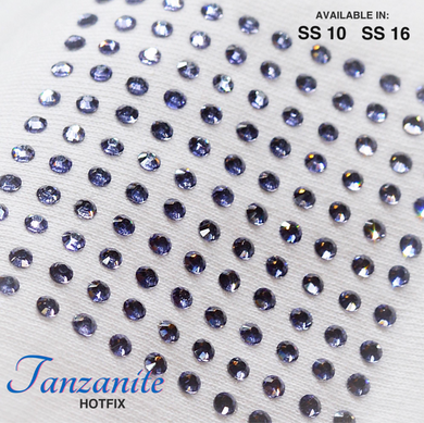 Tanzanite Hot Fix Rhinestone
