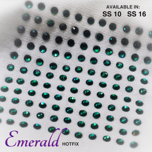Emerald Hot Fix Rhinestone