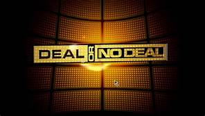 DEAL OR NO DEAL 8/8 GAMES WE PLAY