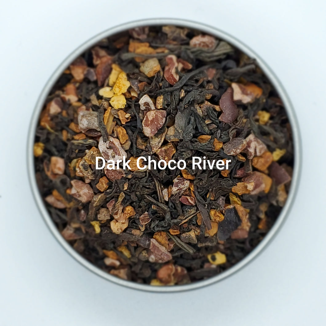 Dark Choc River - Vanilla Choc River, Organic Loose Leaf Tea