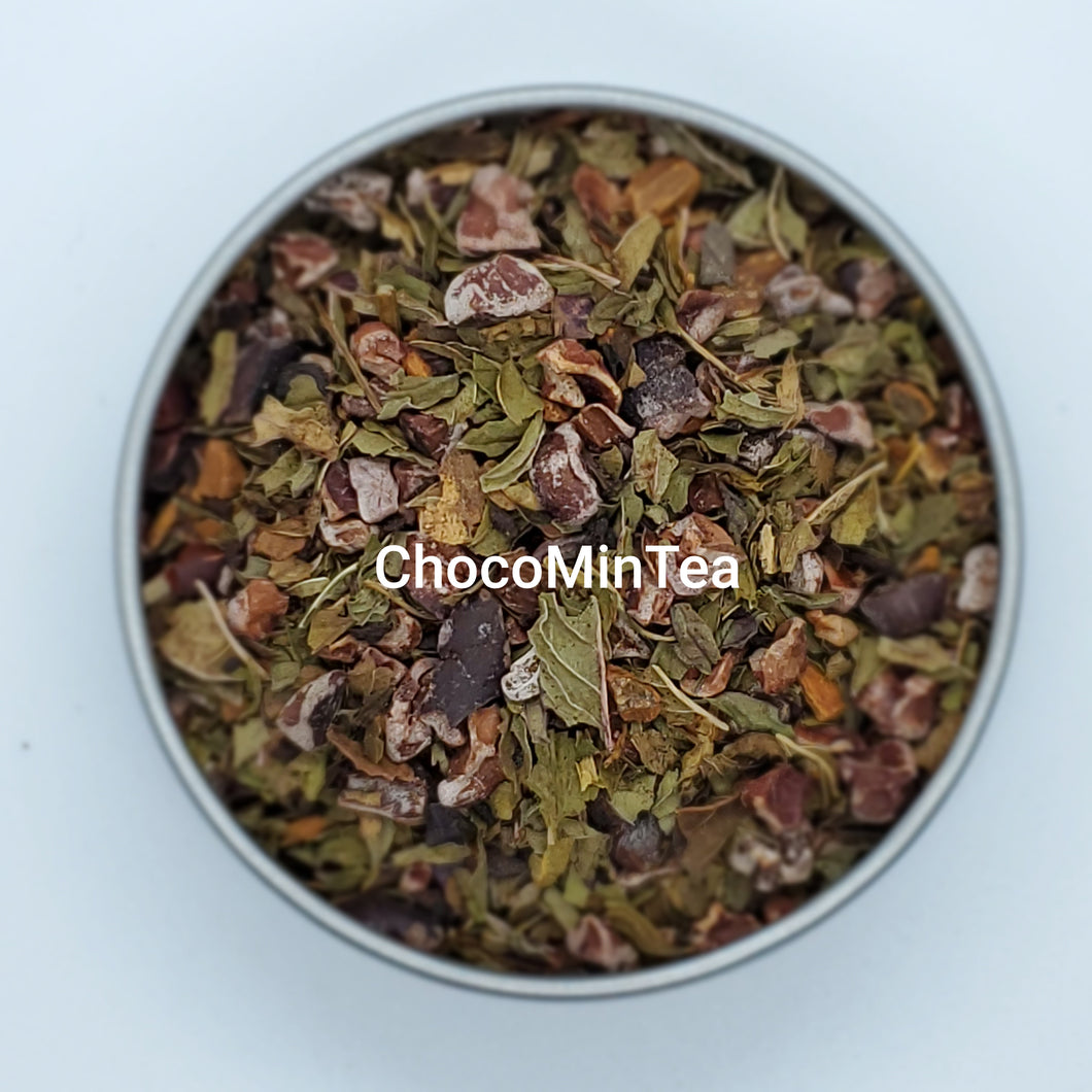 ChocoMinTea - Organic Loose Leaf Tea