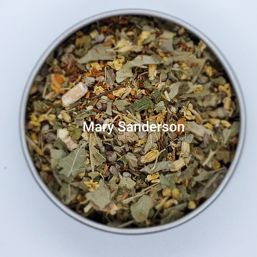 Mary Sanderson Brew - Organic Herbal Tea Blend