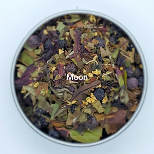 Moon Scout Inspired Tea Blends - Herbal Loose Leaf Tea Blends