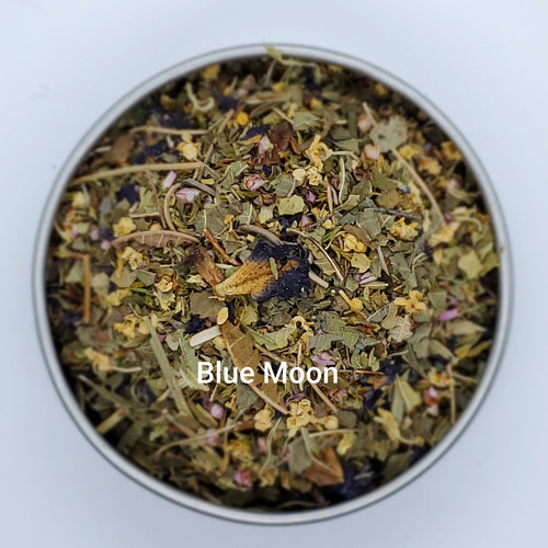 Blue Moon - Herbal Loose Leaf Blend, Turns Blue