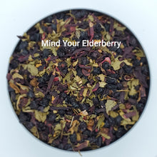 Load image into Gallery viewer, Mind Your Elderberry - Organic, Herbal Loose Leaf Tea