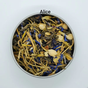 Alice in Wonderland Inspired Tea Blends