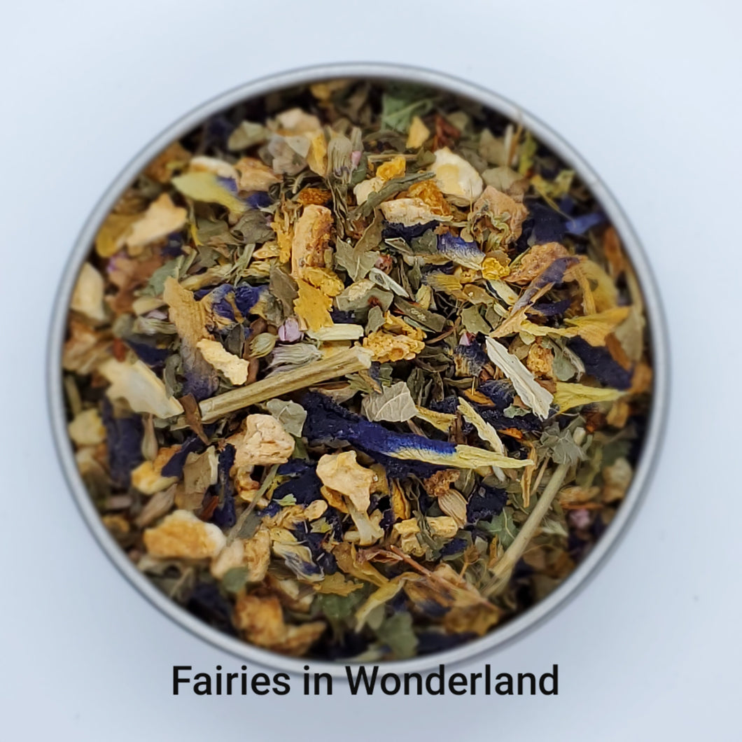 Fairies in Wonderland - Loose Leaf Herbal Tea