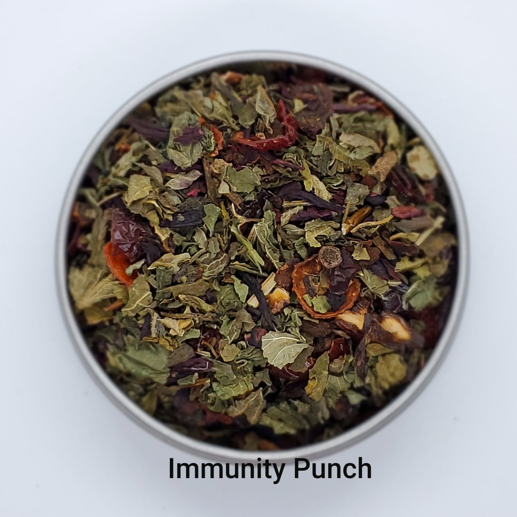 Immunity Punch - Healthy, Immune-Boosting Herbal Blend