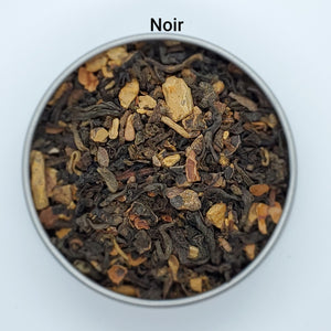 Noir - Dark, Rich Loose Leaf Herbal Tea Blend