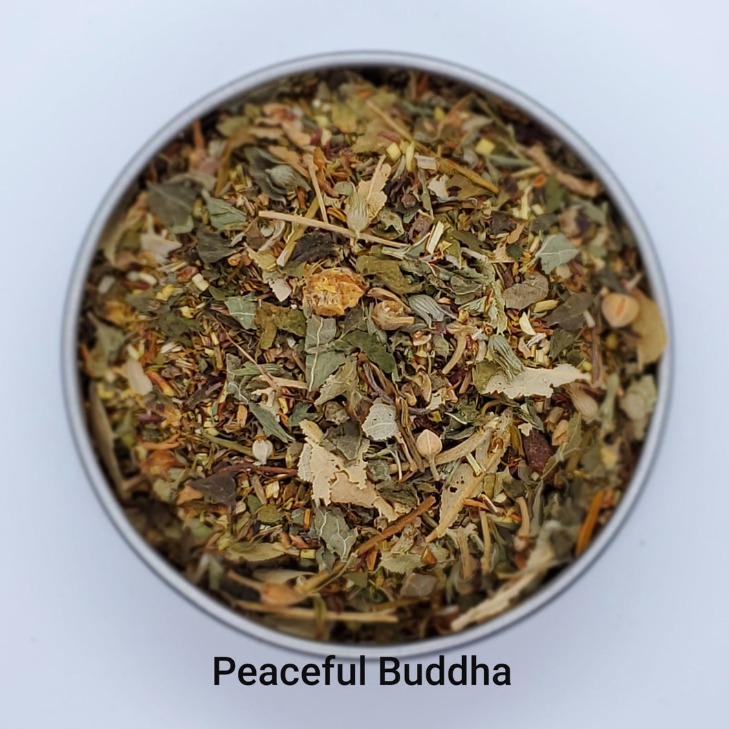 Peaceful Buddha - Relaxing Evening Herbal Blend