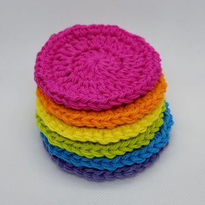 Face Scrubbies - 100% Cotton Rounds