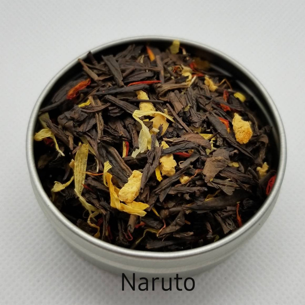 Anime-Inspired - Loose Leaf Tea Blends (fka Naruto-themed Tea)