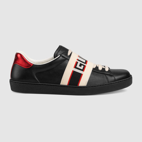 Men's Ace Gucci stripe sneaker