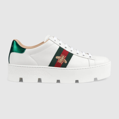 Women's Ace embroidered platform sneaker