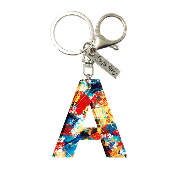 Keychain - Letters - Domino