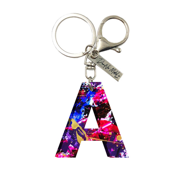 Keychain - Letters - Galactic