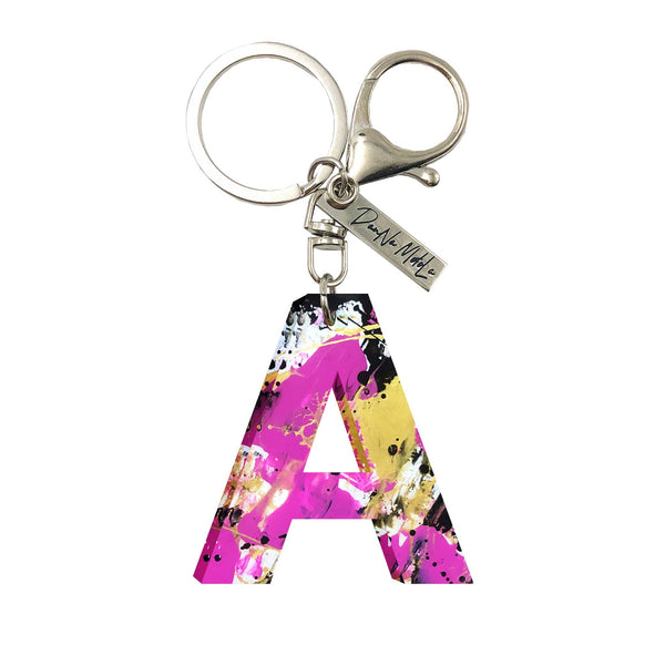 Keychain - Letters - Pink Street