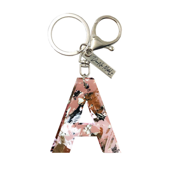 Keychain - Letters - Pink Slave