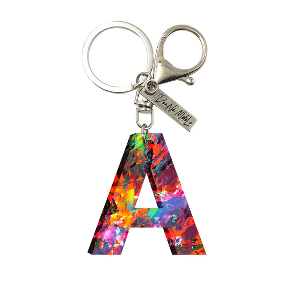 Keychain - Letters - Urbanism