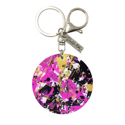 Keychain - Circle - Pink Street