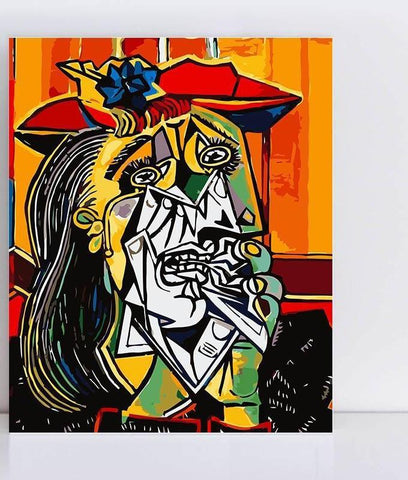 PICASSO CRYING WOMAN