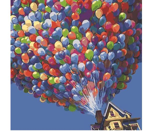 Thousand Balloons - Paint by Numbers Kits for Adults