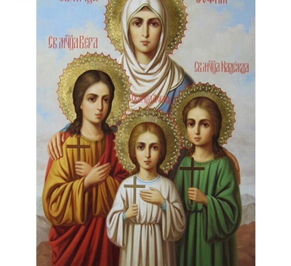 Religious Christian Family - 5d Diamond Painting Kit